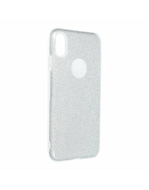 Forcell SHINING nugarėlė IPHONE XS Max sidabrinė
