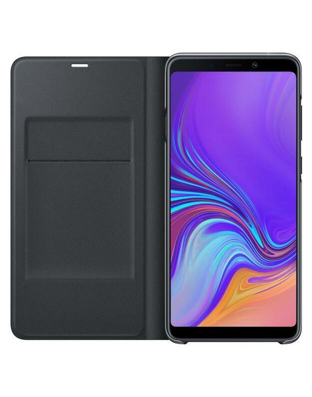 Samsung Galaxy A9 (2018) Wallet dėklas (Juodas) WA920PBE