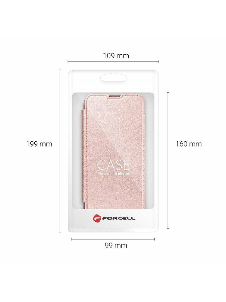 """Forcell ELECTRO BOOK"" dėklas, skirtas ""Samsung A42 5G"", aukso spalvos"