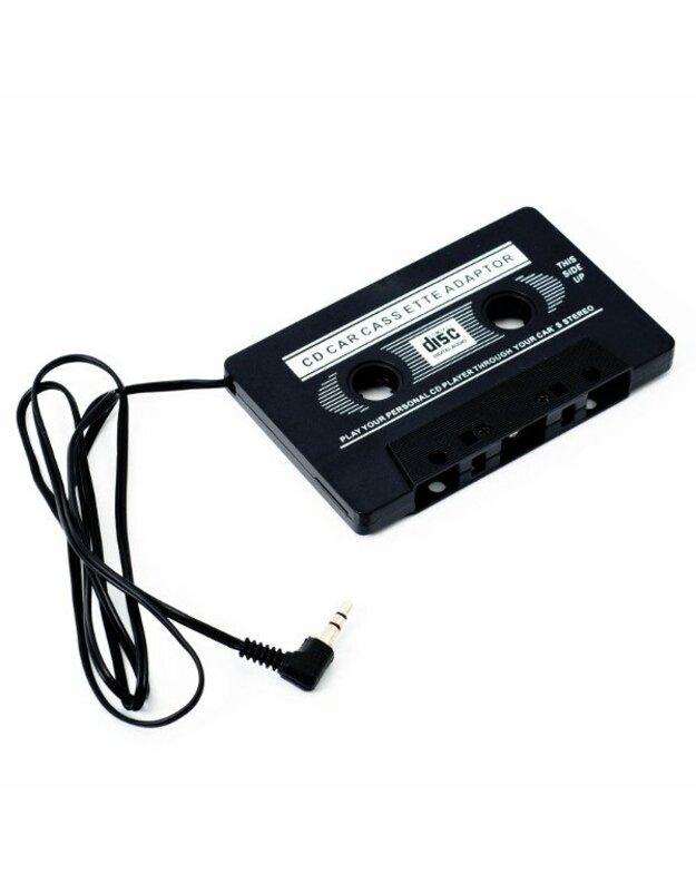 Adapterio kasetės lizdas 3,5 AUX originali pakuotė