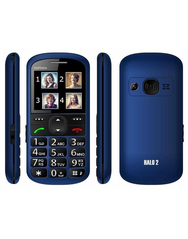 Telefonas MyPhone Halo 2 Mėlynas