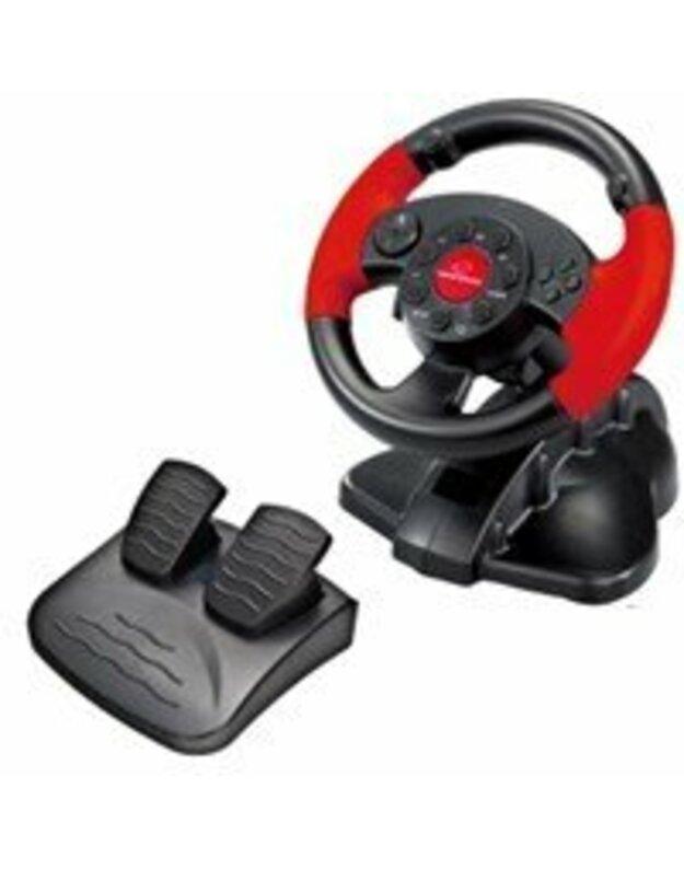 Vairas su vibracija Esperanza PC/PS2/PS3 EG103 HIGH OCTANE