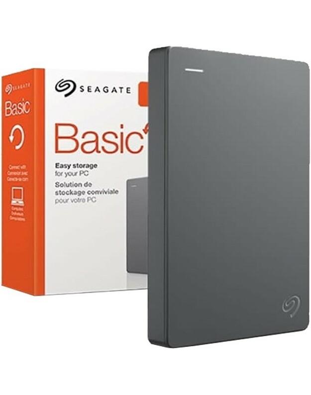 """SEAGATE BASIC 4TB 2,5 """"USB 3.0 IŠORINIS kietasis diskas"""
