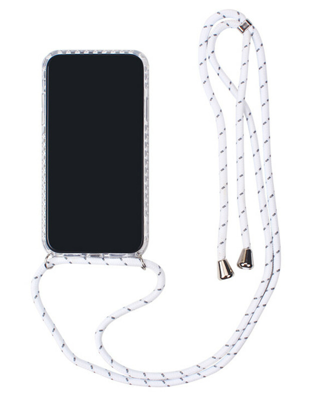Dėklas Strap Case Apple iPhone X/XS baltas