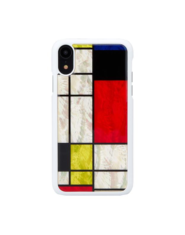 iKins SmartPhone case iPhone XR mondrian white