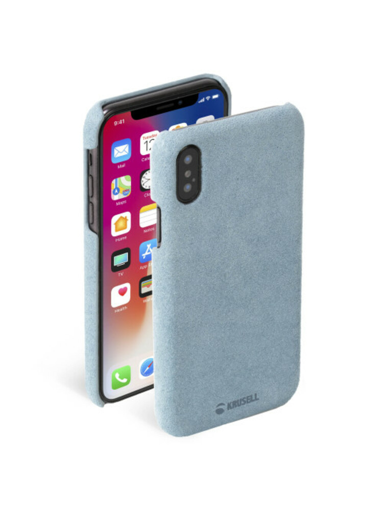 Krusell Broby Cover Apple iPhone XS blue