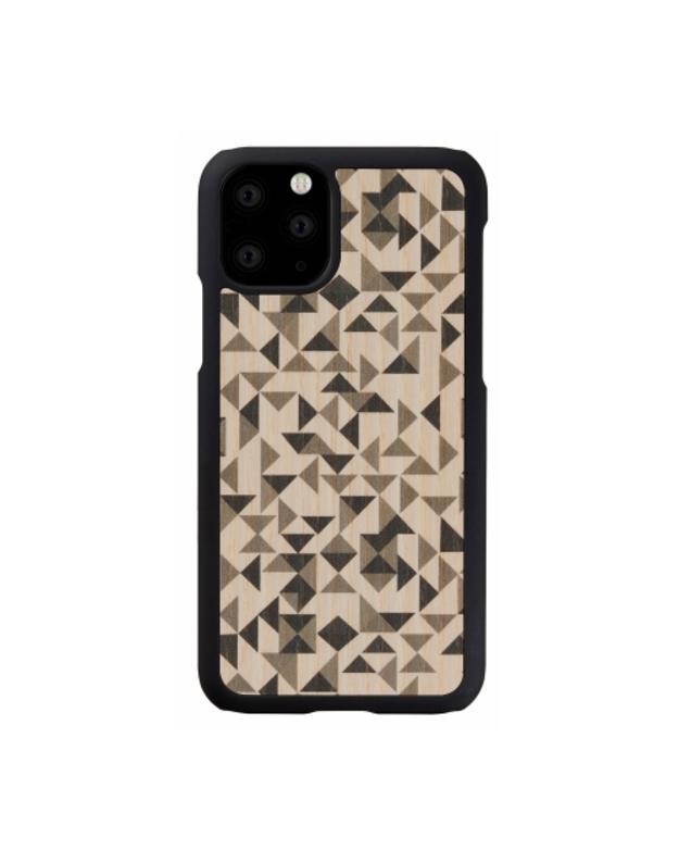 MAN&WOOD SmartPhone case iPhone 11 Pro mono triangle black
