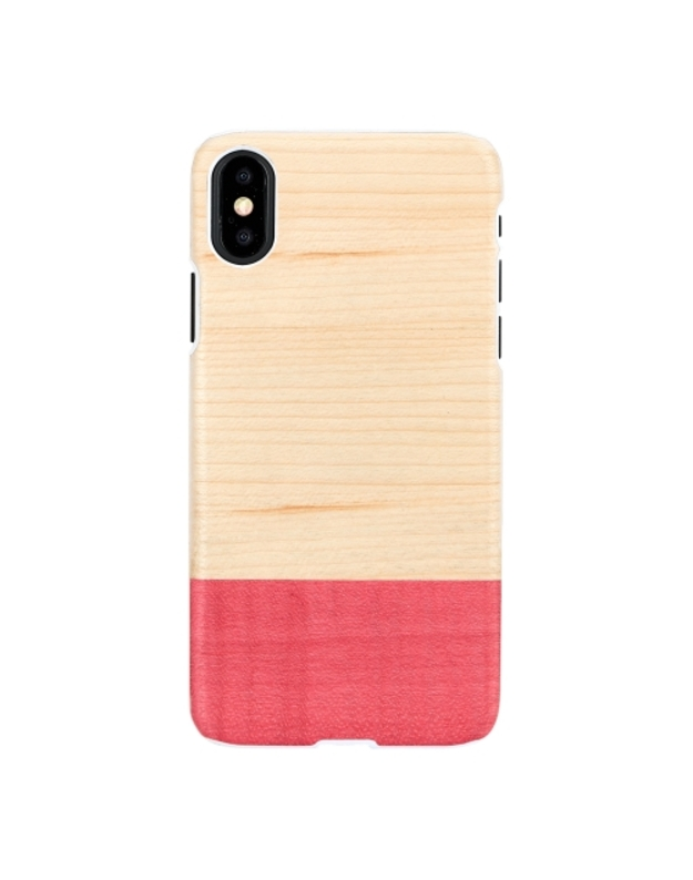 MAN&WOOD SmartPhone case iPhone X/XS miss match white