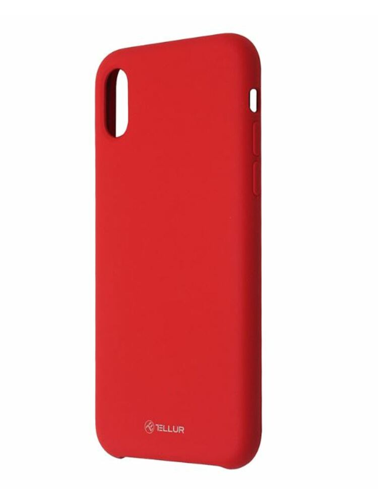 Tellur Cover Liquide Silicone for iPhone XR red