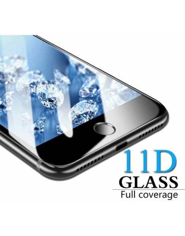 """LCD apsauginis stikliukas """"11D Full Glue"""" Apple iPhone 6 Plus / 6S Plus baltas be įpakavimo"""