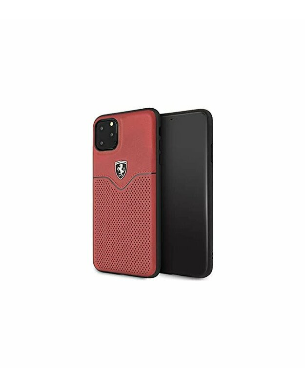 "Raudonas dėklas Apple iPhone 11 Pro Max telefonui ""FEOVEHCN65RE Ferrari Victory Cover"""