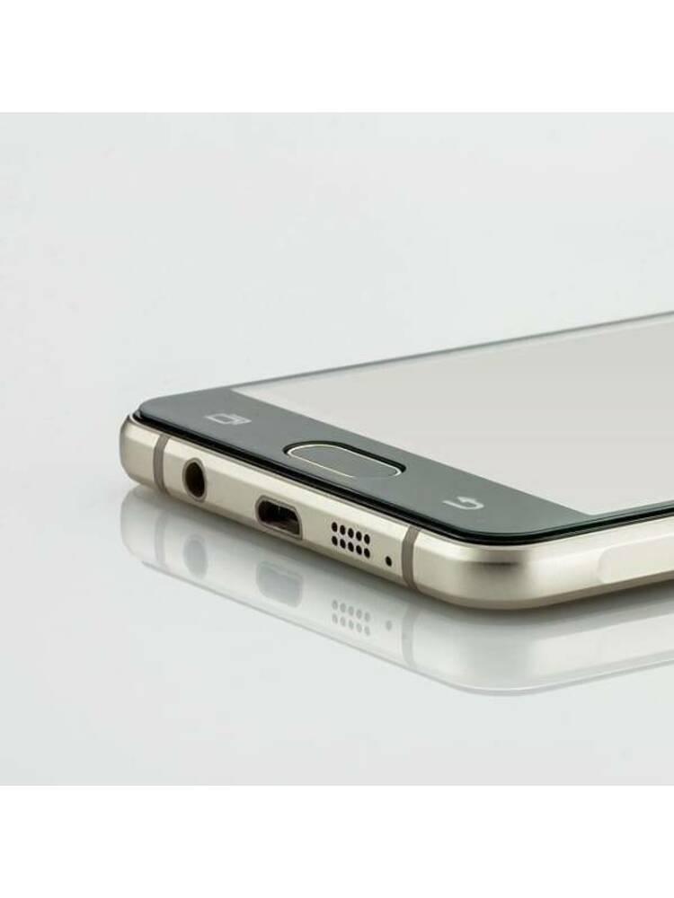 """Grūdintas stiklas 5D XIAOMI REDMI NOTE 10 4G / NOTE 10S """"MyScreen Lite Edge"""" pilnas klijai juodas"""