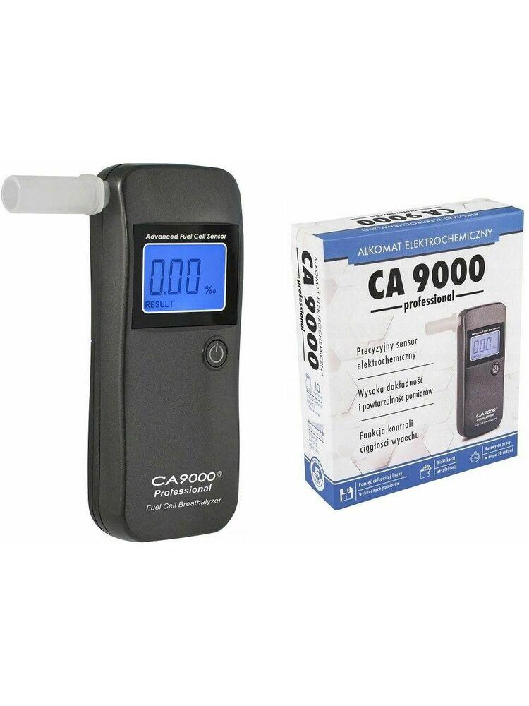 """Alkotesteris """"CA-9000 / F-40 Professional LT """" su ELEKTROCHEMINIU jutikliu"""