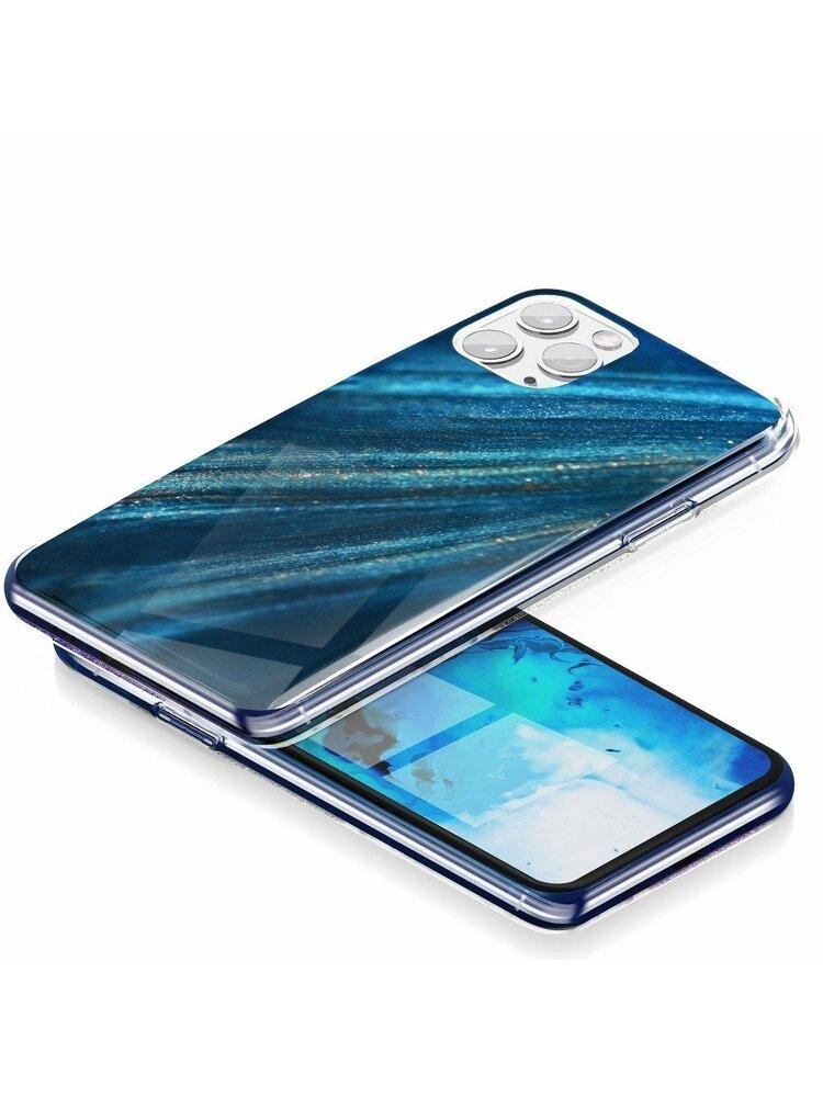 """""""Forcell"""" """"MARBLE COSMO"""" dėklas, skirtas """"iPhone 12 MINI"""" dizainui 10"""