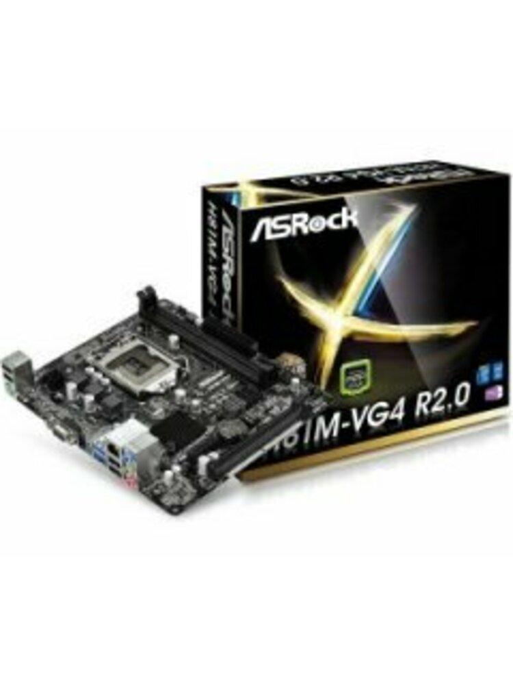 Pagrindinė plokštė ASROCK H81M-VG4 R2.0 SocketLGA1150