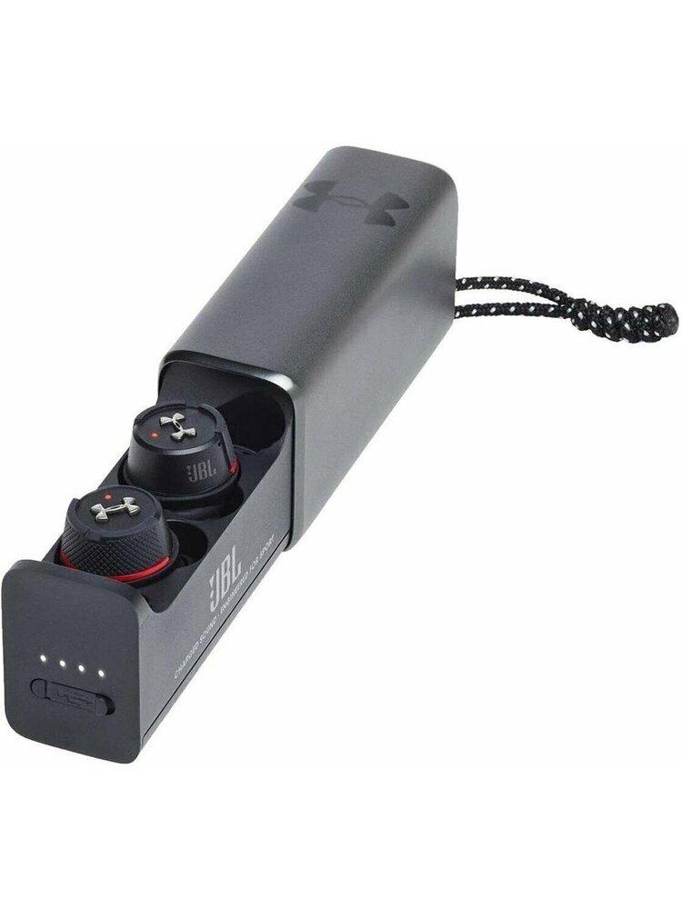 Belaidės ausinės JBL Under Armour True Wireless Flash Black