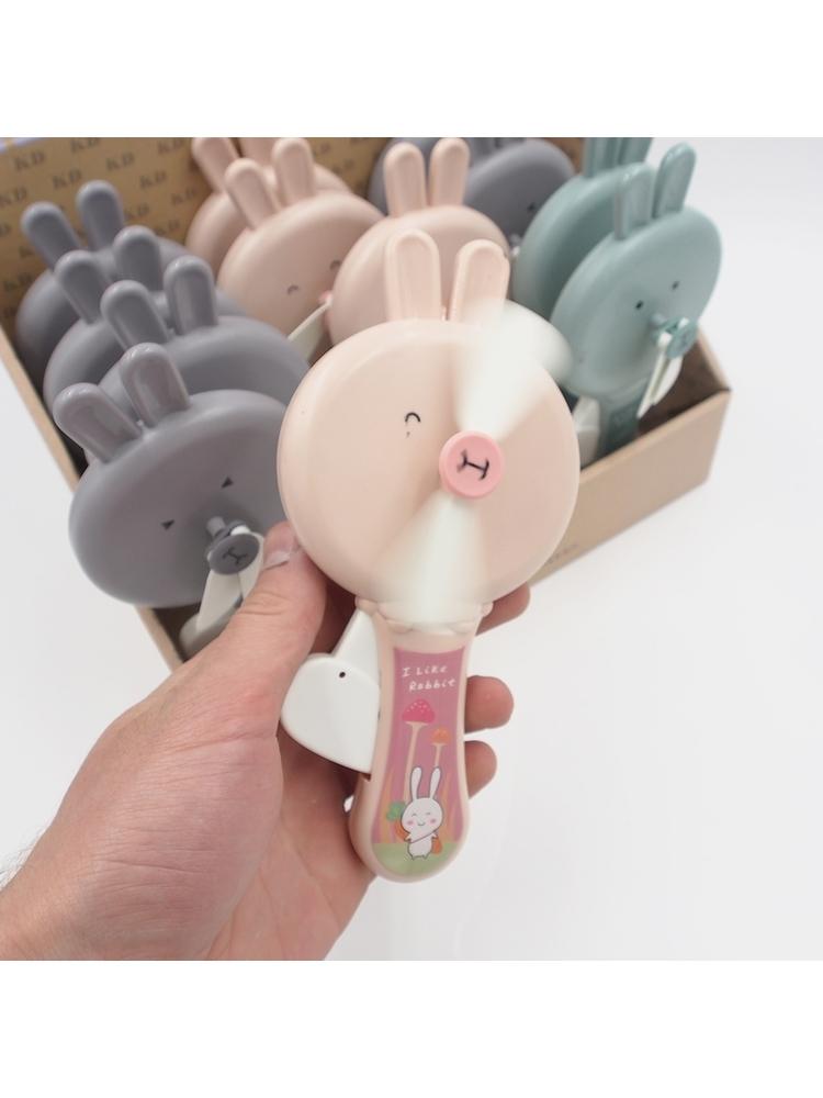 """Spaudžiamas Ventiliatorius """"Rabbit"""""""